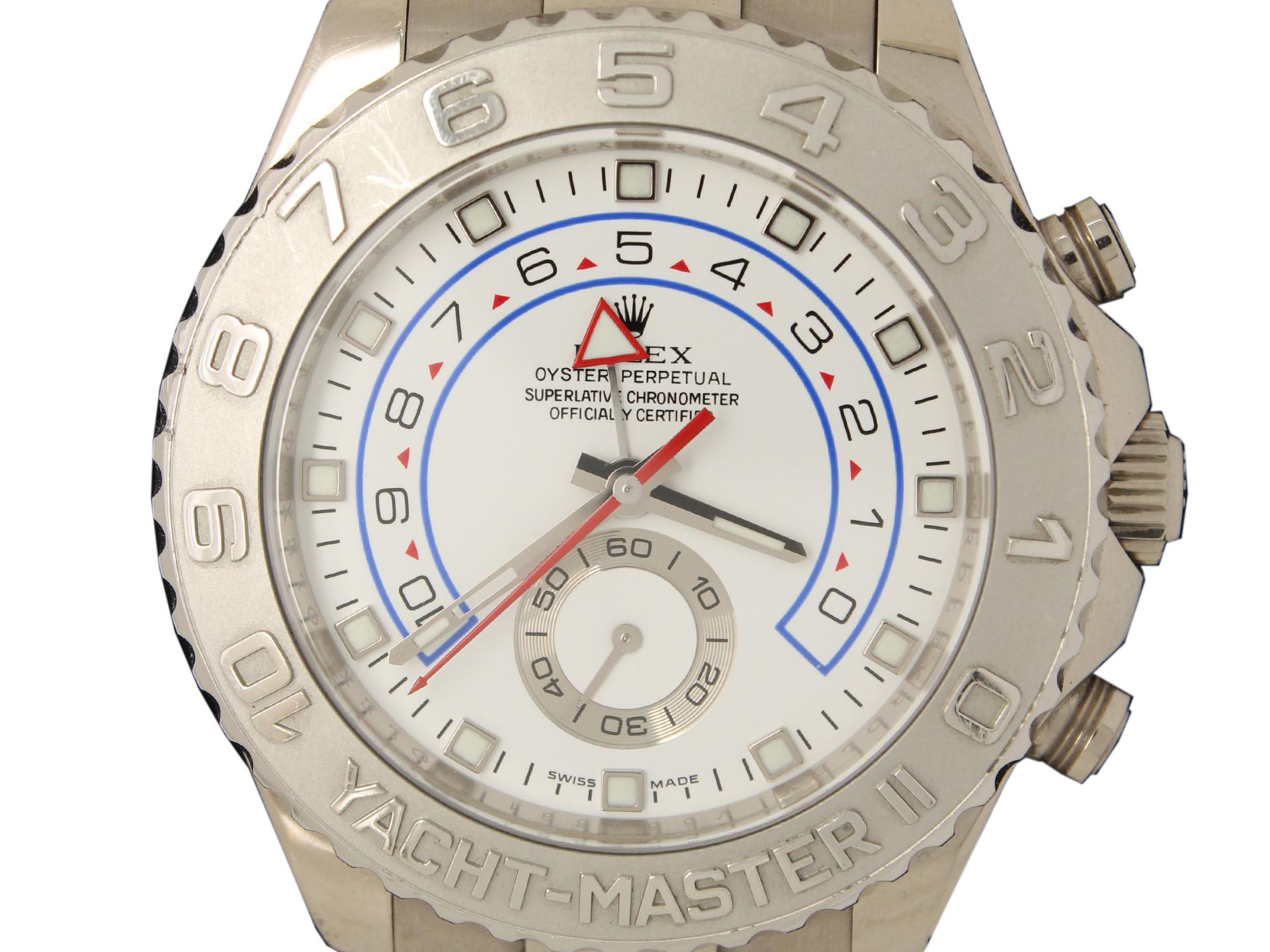 ロレックスヨットマスターⅡ116689