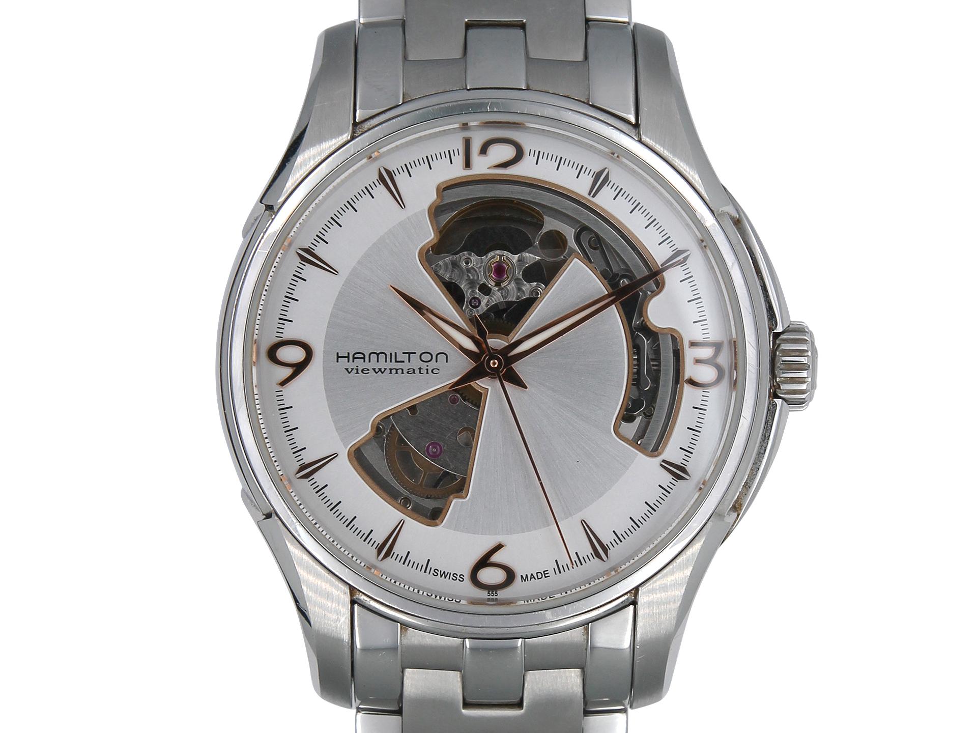 ハミルトンャズマスター ビューマチックH325650