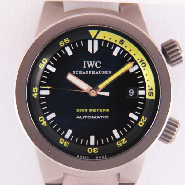 IWCアクアタイマーIW353803